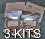 Herbal Worm Formula Kit- 3 Kits / Flat Rate Shipping