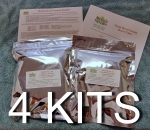 Herbal Worm Formula Kit- 4 Kits / Flat Rate Shipping